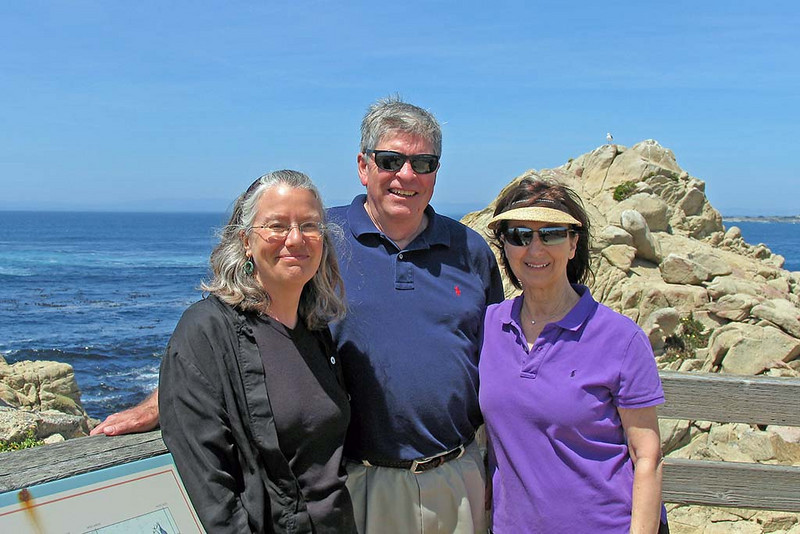 With Phil and Debby; Monterey Bay; May 2008;