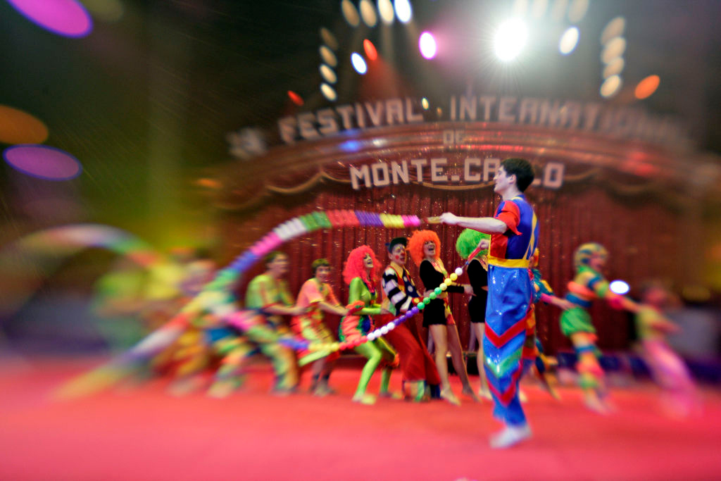 Monaco January 2005Festival International du Cirque de Monte-Carlo©Didier BAVEREL