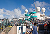 Lots of activity on the Lido Deck as passengers arrive.   (12-28-2008)