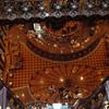 The impressive 11-deck high Carnival Legend Atrium.