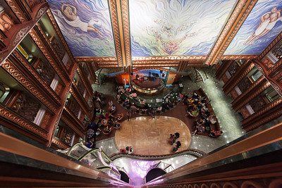 Spirit Lobby from deck 6.