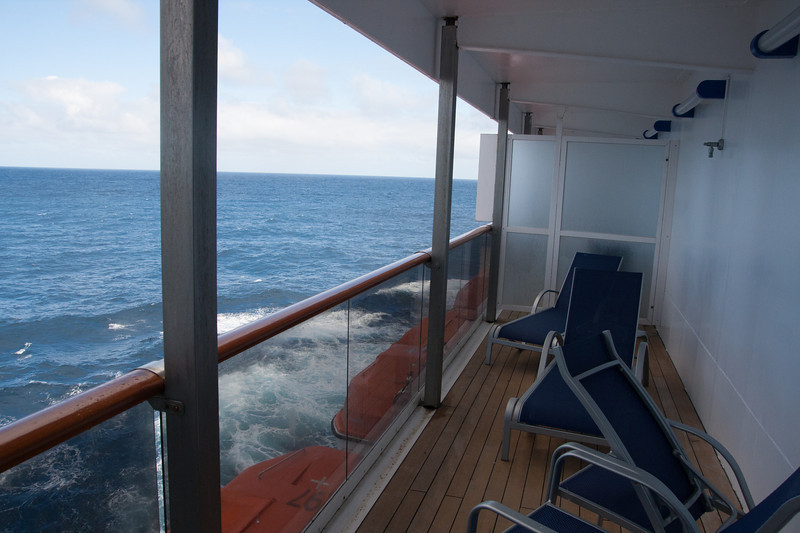 Cabin 6234 balcony