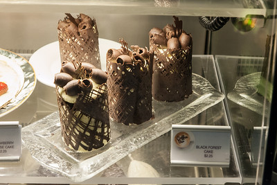 Fountain Cafe Black Forest cakes