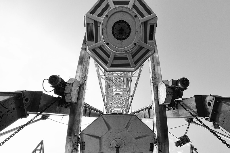 Directly Under the Ferris Wheel
