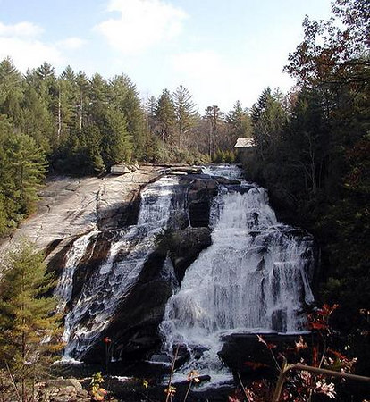 High Falls in DuPont State Forest NC