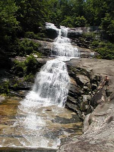 Big Falls on Thompson River<br /> Thompson River Gorge NC