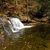 Waterfall on Avery Creek <br /> Pisgah National Forest,  North Carolina<br /> October 2012