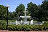 Forsythe Park fountain.  Savannah, GA.