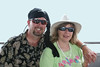 On a pirate cruise off the coast of S. Carolina.