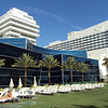 Back deck at the FountaineBleau