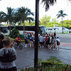 Lots of line ups those buses are for us