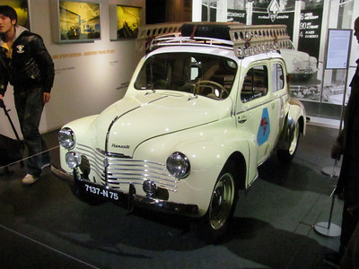 Another air cooled Renault mini car that appears to have driven to Capetown and back.  Completely restored...