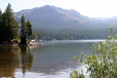 7/9/07 View of Silver Lake from Kay's Silver Lake Resort, Hwy 88 (Carson Pass Rd), Central Sierras, Amador County, CA