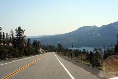 7/9/07 Hwy 88E (Carson Pass Rd), approaching Silver Lake. El Dorado National Forest, Central Sierras, Amador County, CA