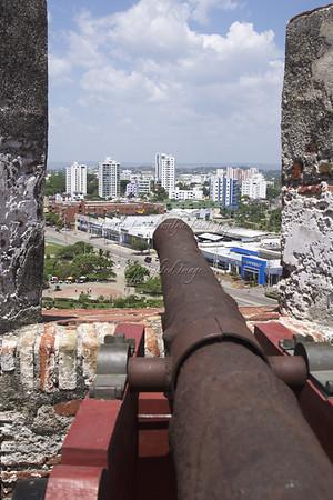 View from Fuerte of San Felipe