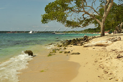 Playa Blanca on Baru Island