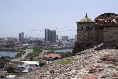 View from the Fuerte de San Felipe