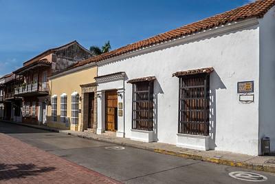 Street in Cartagena
