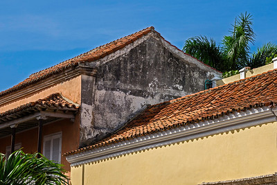 Roof of an old house
