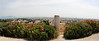 Views of Tunis and the Mediterranian Sea from the Carthage ruins.