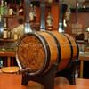 Barcardi Barrel on Demo Bar - side shot