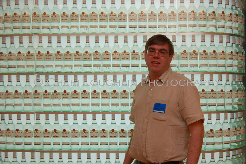 Bill Spain from Market Watch at Bacardi Superior Wall