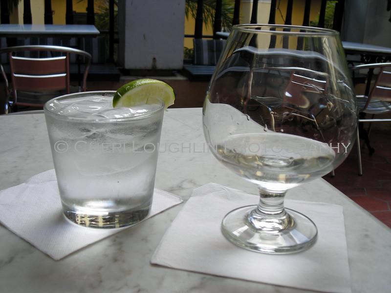 Bacardi Superior in Snifter at El Picoteo Bar de Tapas in Old San Juan