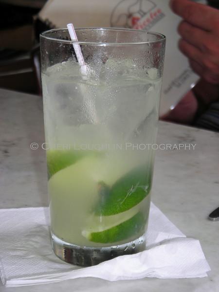 Mojito at El Picoteo Bar de Tapas in Old San Juan