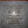 Pina Colado birth in Old San Juan