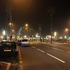 Casablanca Boulevard by night..