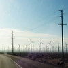 Leaving Whitewater, these wind farms surround it (San Gorgonio Pass is the 8th windiest place in the world).