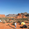 Valley of Fire campsite, Day 1