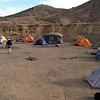 Campsite at Calico ghost town, California (outside Yermo), Days 2-6
