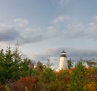 Lighthouse in Castine