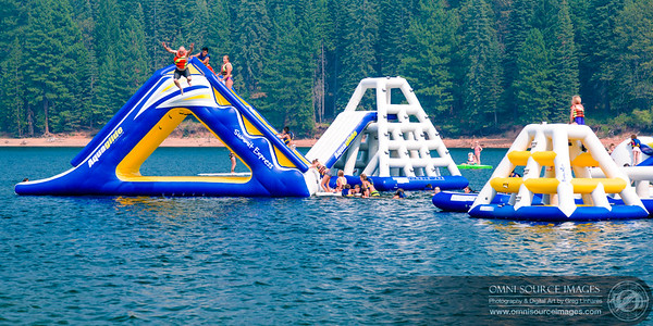 Lake Siskiyou Inflatable Obstacle Course