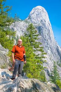 Hiking Castle Dome Trail - Castle Crags State Park, CA