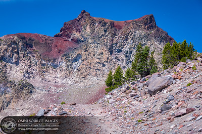 Mt Shasta Panther Meadow Trailhead - Elevation 8,521 ft.