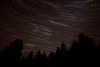 Orions belt moving across the sky. 23x 2 minute exposures. 16mm, f6.3, ISO 800