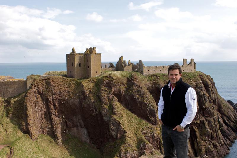 No nos queremos ir del castillo