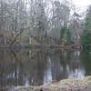 Laguna sobre en tierras de Crathes.