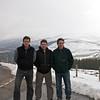Pasando el centro de ski y camino a Stonehaven.
