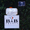 Sign to our B&B.  Jean Pierre was the host.  He knew English well because he had worked in the United States.  He came from the village pastry shop each morning with our breakfast.