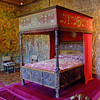Bed chamber of Catherine de Medicis; a very famous lady in French history.
