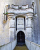 An old entrance to the Amboise Castle.