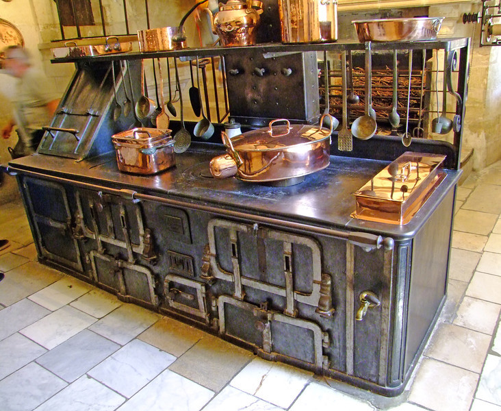 Cook stove for the castle.