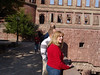 Hospitality House People at the Heidelberg Castle Wall