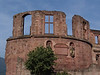 Heidelberg Castle Tower Ruins Close-up