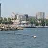 Long Beach skyline as we leave the dock.