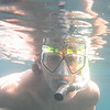 Alex snorkling at Casino Point.