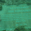 Underwater plaque.